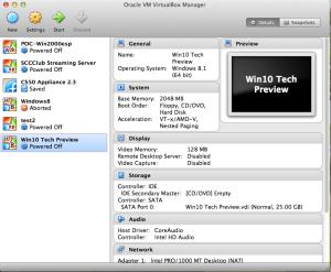VM Virtual Manager